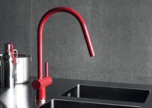 Red Faucet