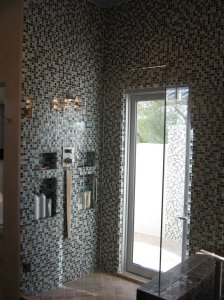 """master shower after remodel"""